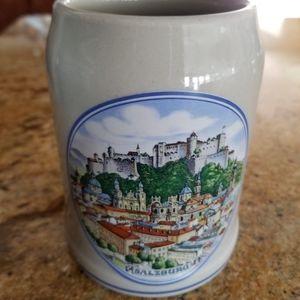 VTG Saltzburg Ceramic Authentic Bier Mug